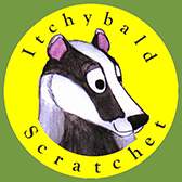 Itchybald Scratchet Logo
